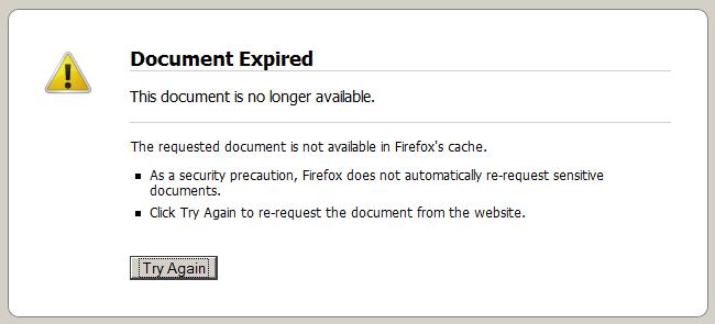 document expired