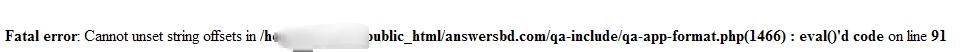 "Question Closing"" plugin problem"