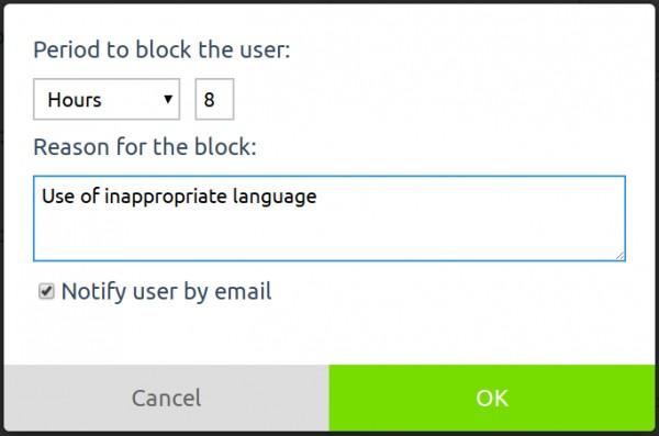 New Premium Plugin] TUB - Temporary User Block - Question2Answer Q&A