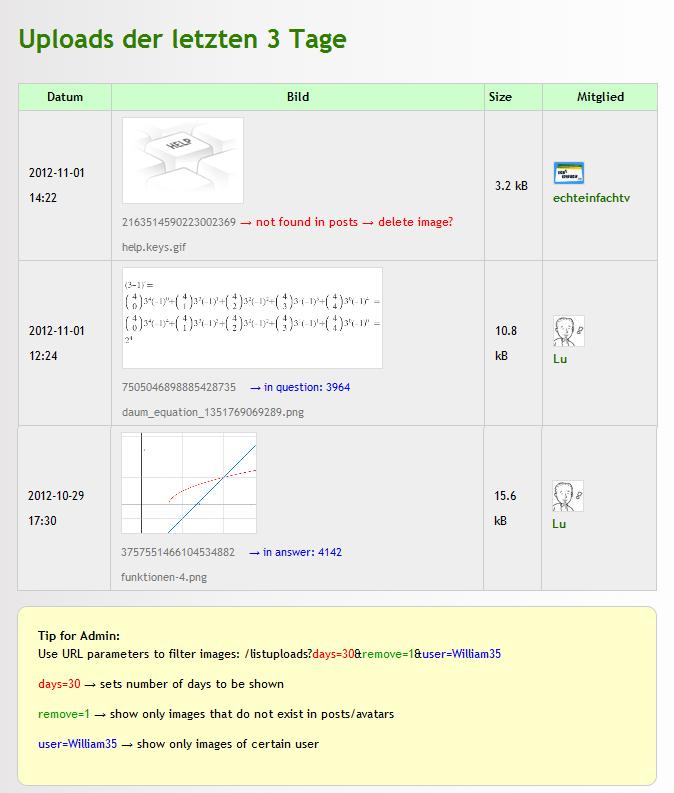 q2a-list-uploads-page screenshot v0.3